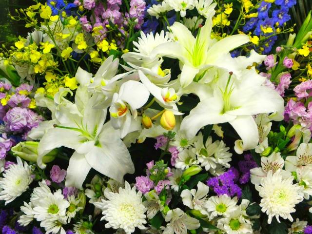 東京で花を贈る