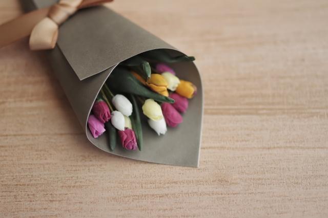 ネットショップでお花を贈る